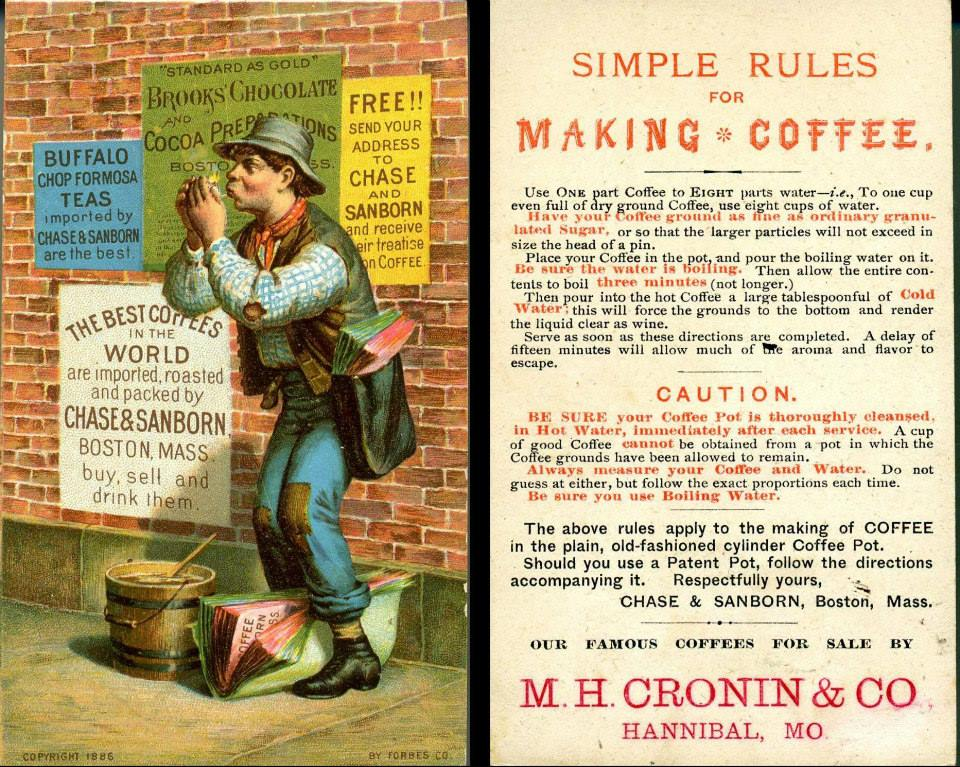 1880s Grocer Ad