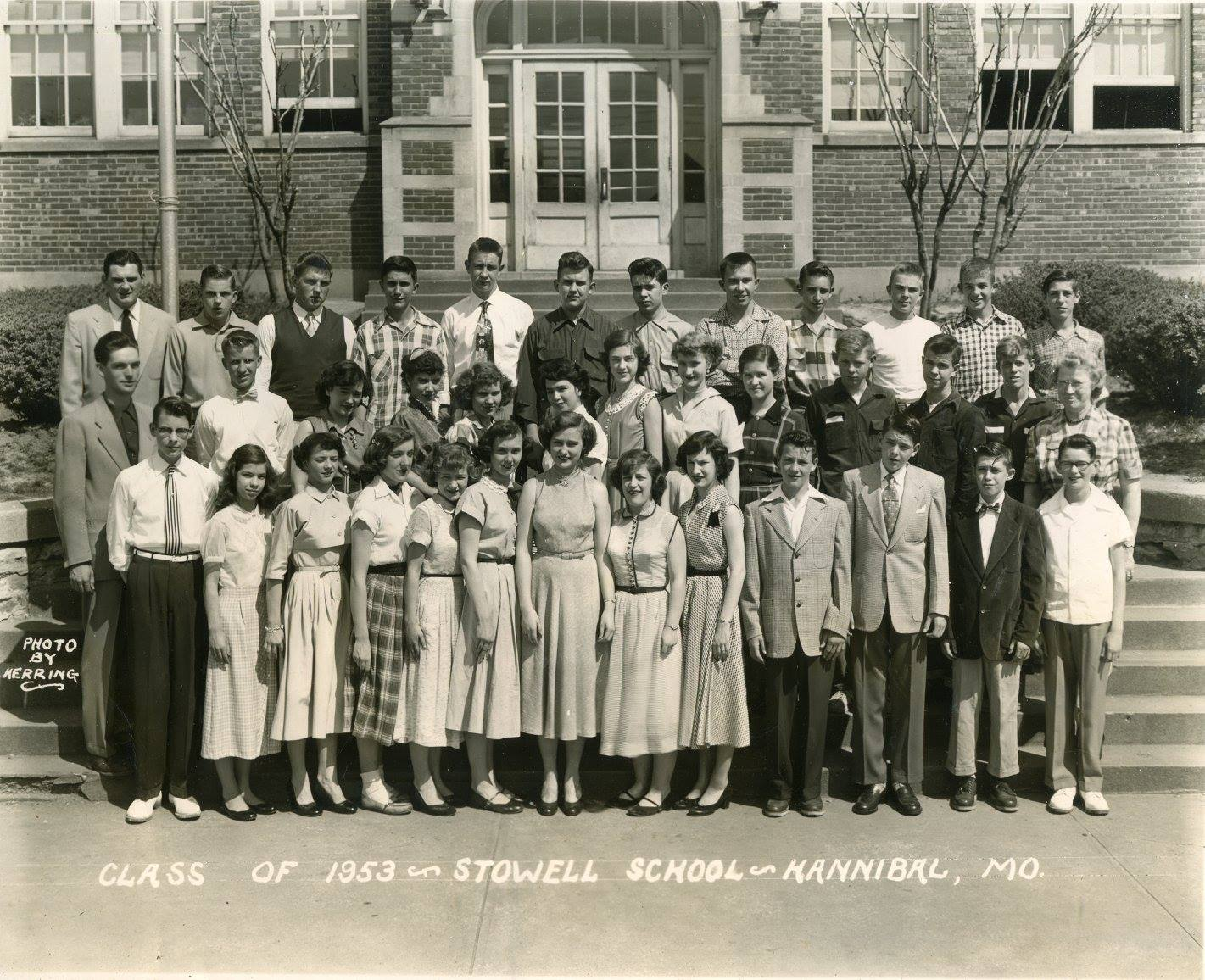 Stowell 9th Grade, 1953