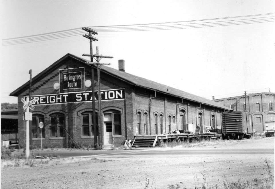 Burlington Freight Station