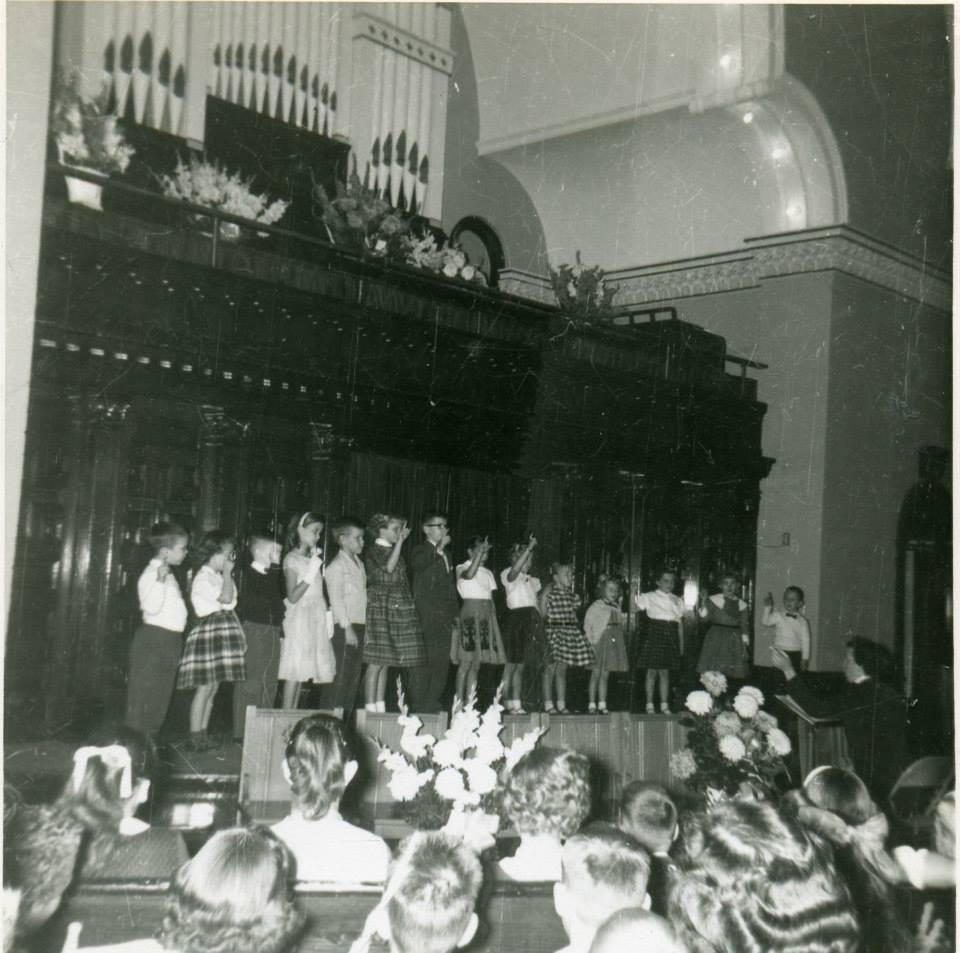 Cherub Choir 1957