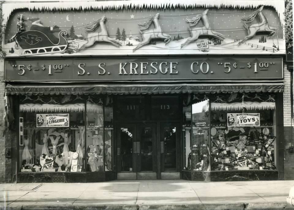 Kresge on Main St.