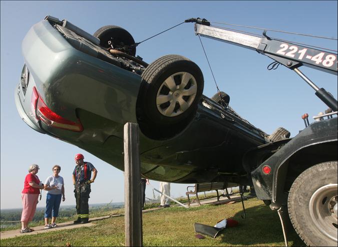 Lovers Leap Car