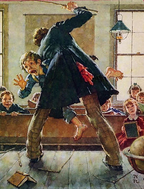 Tom Sawyer by Norman Rockwell