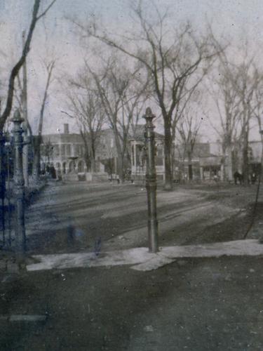 Central Park Iron Fence Pre-1915