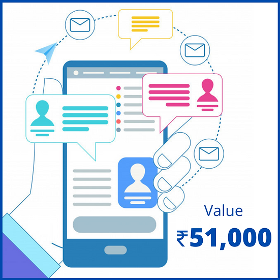 SMS Credit - 3 Lakh