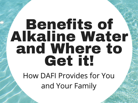 Benefits of Alkaline Water and Where to Get it!