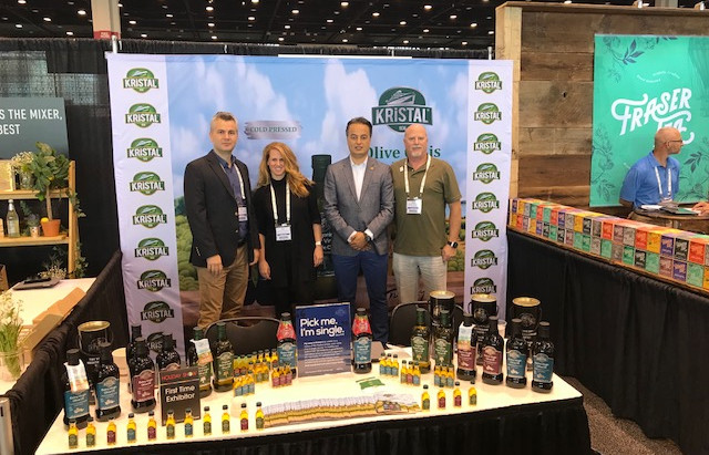Kehe Holiday Show June 13 -14 2018 with our client Kristal Turkish Olive Oil