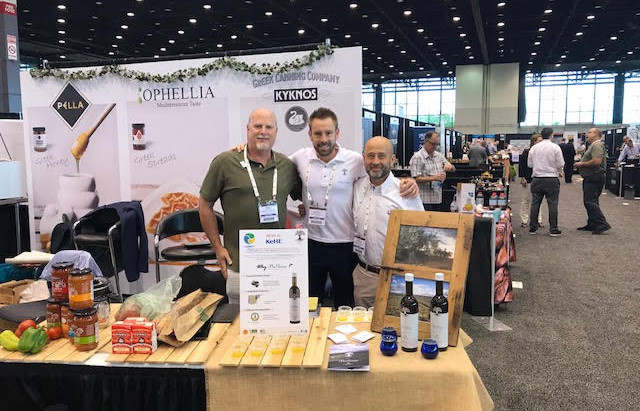 Kehe Holiday Show June 13 -14 2018 with our client Mis Raices Olive Oil from Spain