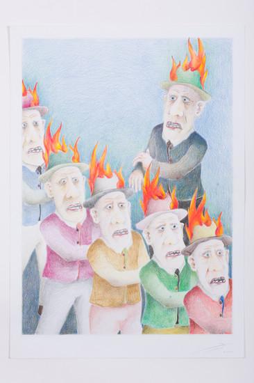Der Feuerlöscher