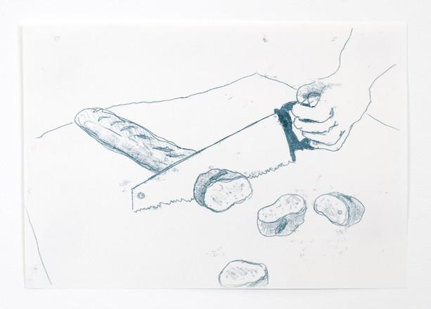 Falsches Werkzeug (Brot)