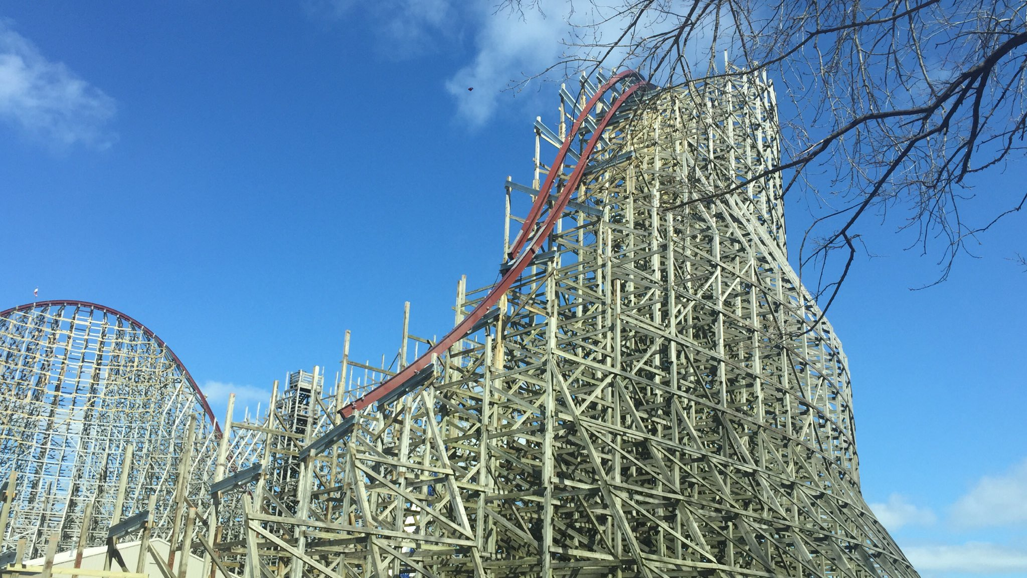 mean streak rmc conversion update 9 meaner than you ever imagined roller coaster daily blog