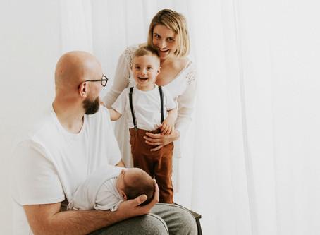 Noworodkowo-rodzinna sesja WHITE