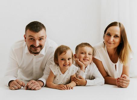 Sesja rodzinna WHITE