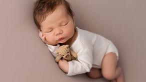 Sesja noworodkowa Stylizowana - Ksawery 9 dni