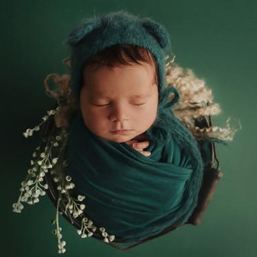 Sesja noworodkowa Stylizowana & ART- Jagna