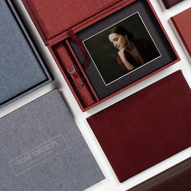 Folio box- czyli piękny wydruk  zamknięty w ręcznie wykonanym pudełku.