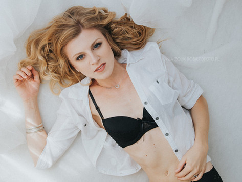 Sesja portretowo kobieca WHITE - Piękna J.