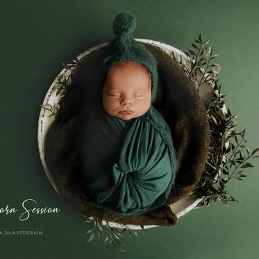 Sesja noworodkowa Stylizowana & WHITE -  Olaf
