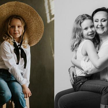 Sesja rodzinna ART - Portret Mama i Ja