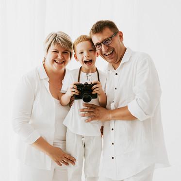 Rodzinna sesja WHITE - młody fotograf