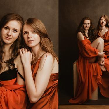 Sesja portretowa ART Bianki i Anity