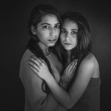 Sesja portretowa ART - Trzy pięknotki