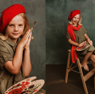 Artystyczna sesja portretowa Oliwii