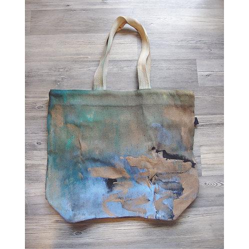 Big Shopper Bag with zip and inside pocket