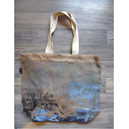 Big Shopper Bag with zip and inside pocket