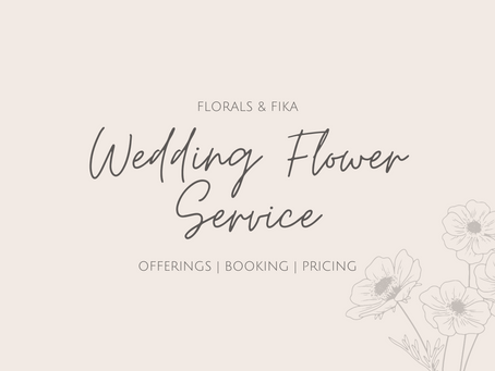How Much Do Wedding Flowers Cost?!?