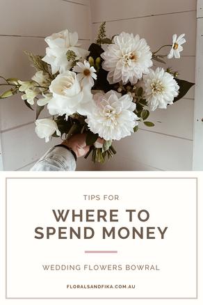 Where To Spend Money: Wedding Flowers