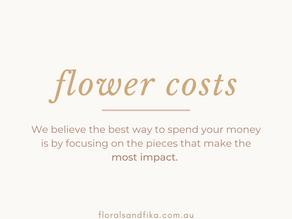 Wedding Flower Prices: Southern Highlands Bowral