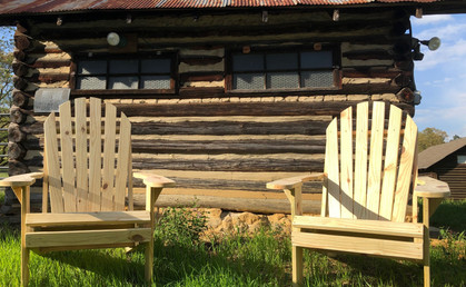 Natural Adirondack Chairs $60