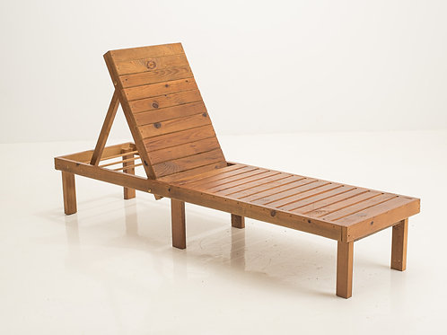 Chaise Lounge Pecan