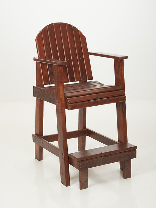 Bar-Height Deck Chair Mahogany
