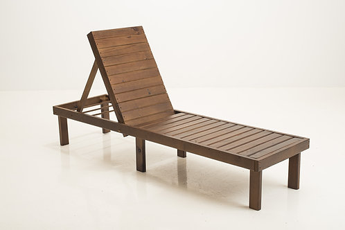 Chaise Lounge Walnut