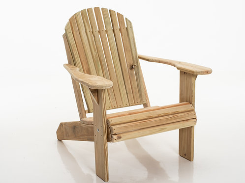 Premium Adirondack Chair Natural