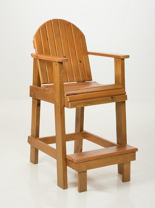 Bar-Height Deck Chair Cedar