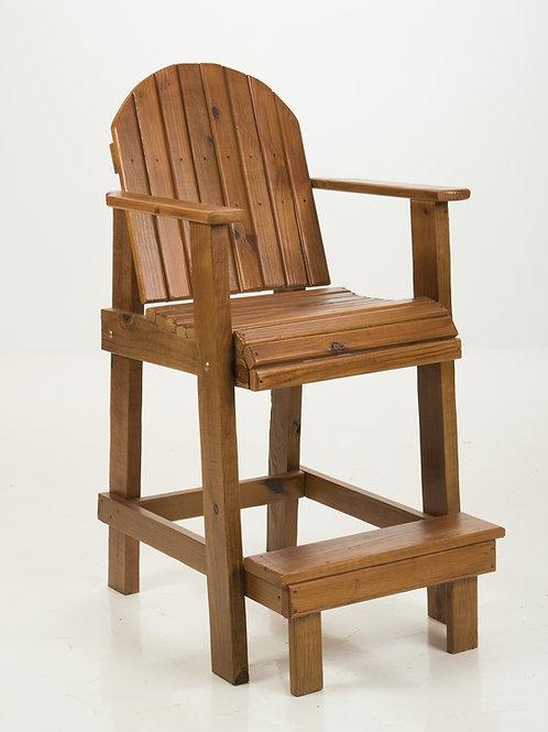 Bar-Height Deck Chair Pecan
