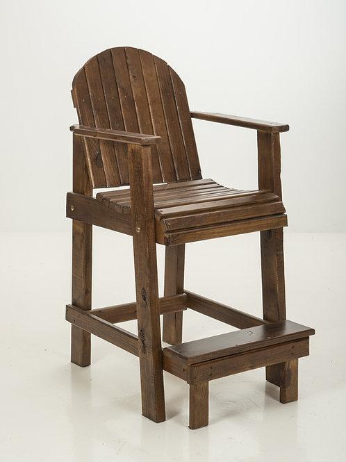 Bar-Height Deck Chair Walnut