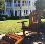 Southern Pine Stained Teak