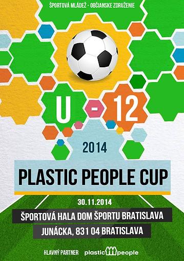 Plastic People CUP 2014 futbalový turnaj U12