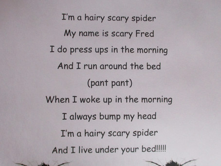Songs we sing at Playschool