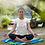 Thumbnail: Yoga Day Organic Cotton Open Neck T-Shirt