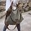 Thumbnail: Spacious Canvas Handbag, exterior front pocket, interior zip pockets.