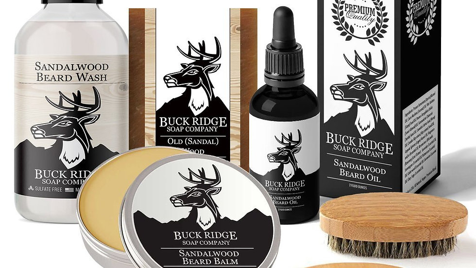 Beard and Body Care Gift Set, cruelty free, all natural products