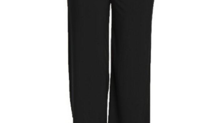 Extra Comfy Black Pants, spandex-polyester.  Made in USA