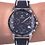 Thumbnail: Men's Handmade Percision Timekeeping Swiss Watch with sapphire crystal J7.108.L