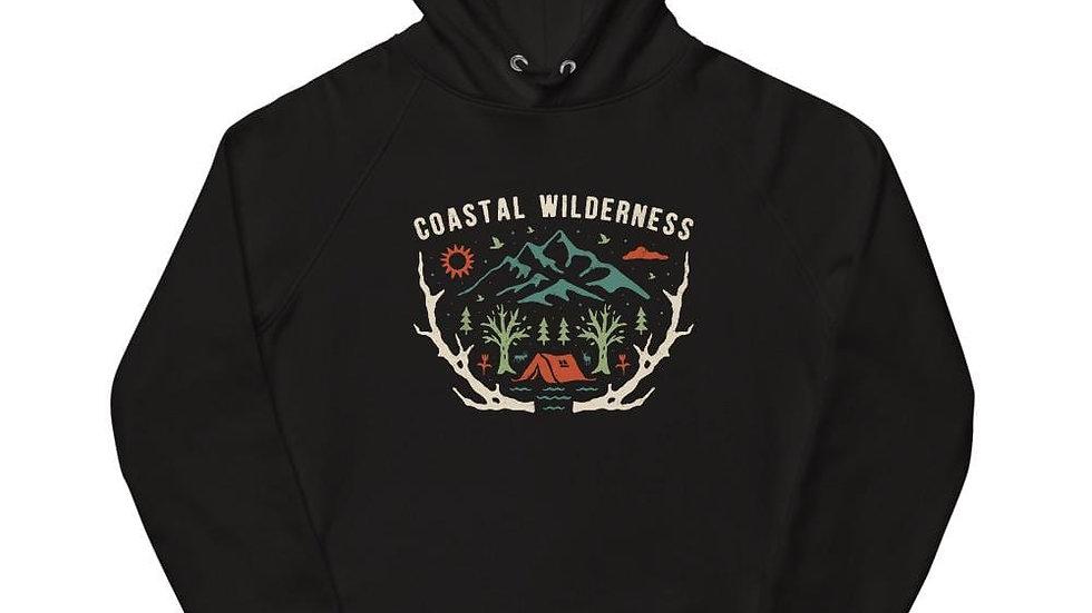 Sweatshirt, Organic Cotton and recycled polyester, Coastal Wilderness Brand