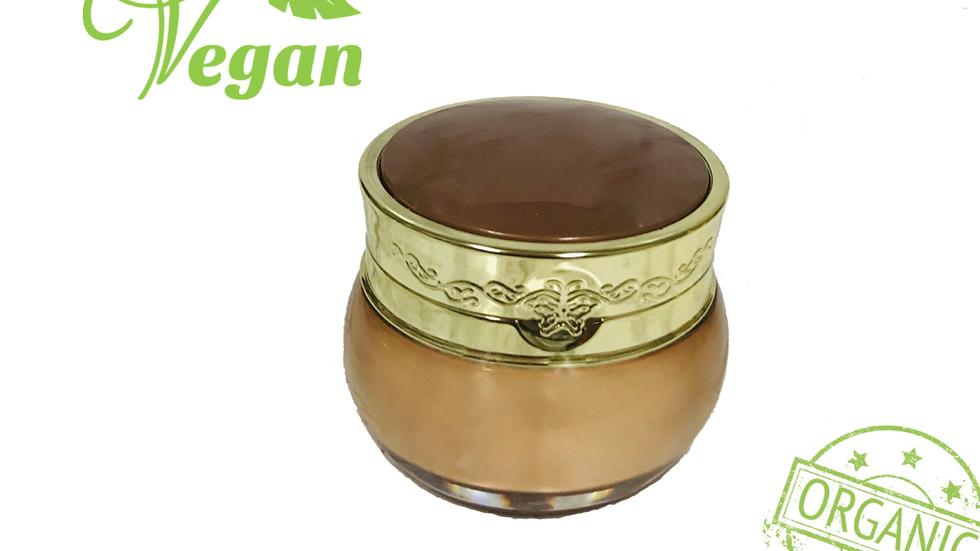 Organic Vegan Face Cream, travel size, small and large, organic avocado oils +